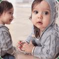 Chaleco bebé a Dos Aguja