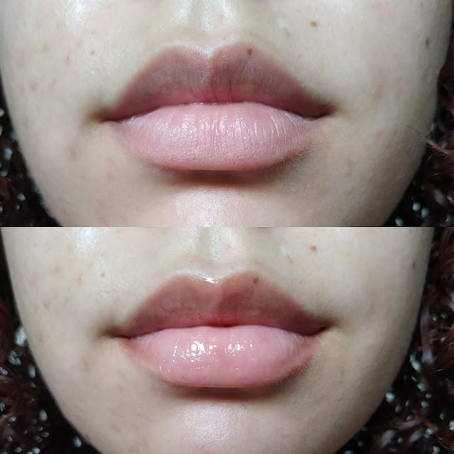 Gloss Lip Volumoso da Max Love - Antes e Depois