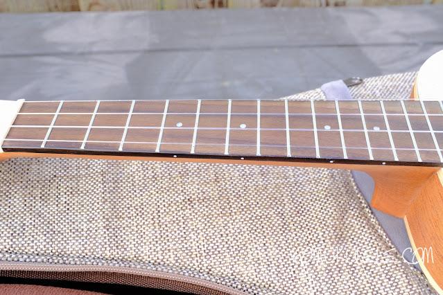 aNueNue UC10 Color Concert Ukulele neck