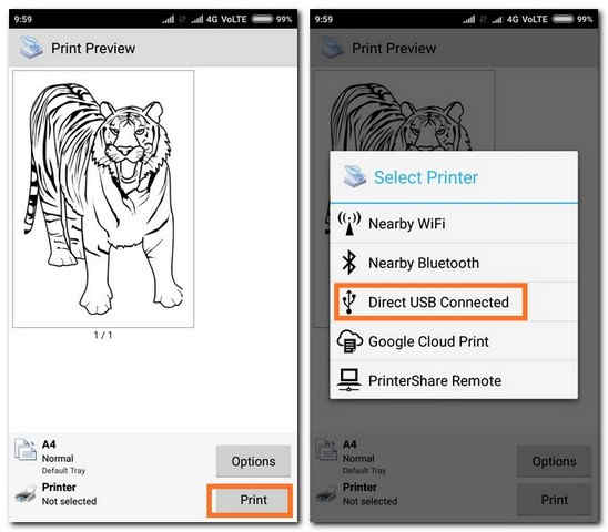 Cara Ngeprint File Dari Hp Android Menggunakan Kabel Otg