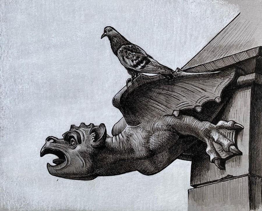 04-The-pigeon-and-the-gargoyle-Kyla-Barnett-www-designstack-co