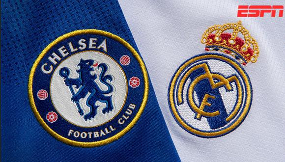Real Madrid vs. Chelsea por las semifinales de Champions League