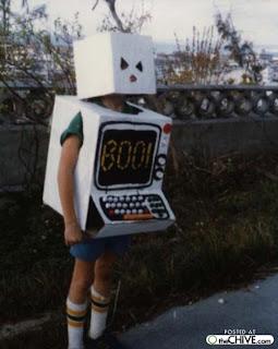 Robots hechos de cartón