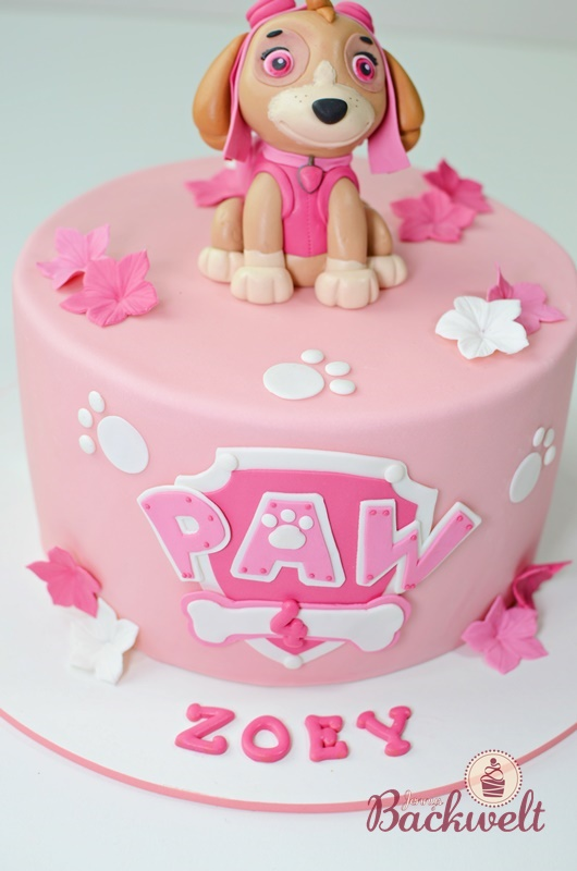 Paw Patrol Torte Mit Skye Jennys Backwelt