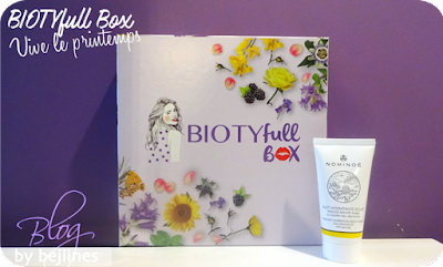 BIOTYfull Box de Mars - masque visage nominoë