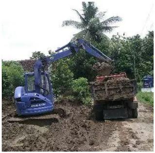 Jasa buang urug angkut puing bangunan urug tanah dan sampah proyek jogja
