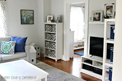 A Minimalist Montessori Home Tour: Another View of the Living Room
