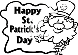 happy St Patricks day pictures to color 2018