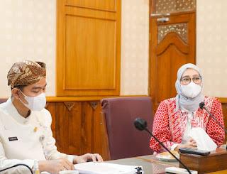 Temui Walkot Surakarta, SKP Angkie Yudistia Bahas Percepatan Vaksinasi Bagi Penyandang Disabilitas