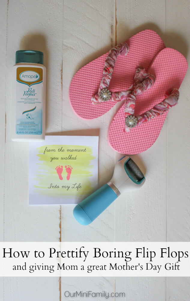 2c1bd8dbd Pamper your Feet--Learn how to Make Boring Flip Flops Look Beautiful ...