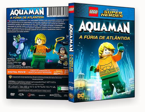 LEGO DC SUPER HEROIS AQUAMAM A FURIA DE ATLANTIDA – AUTORADO