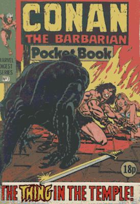 Conan the Barbarian pocket book #7