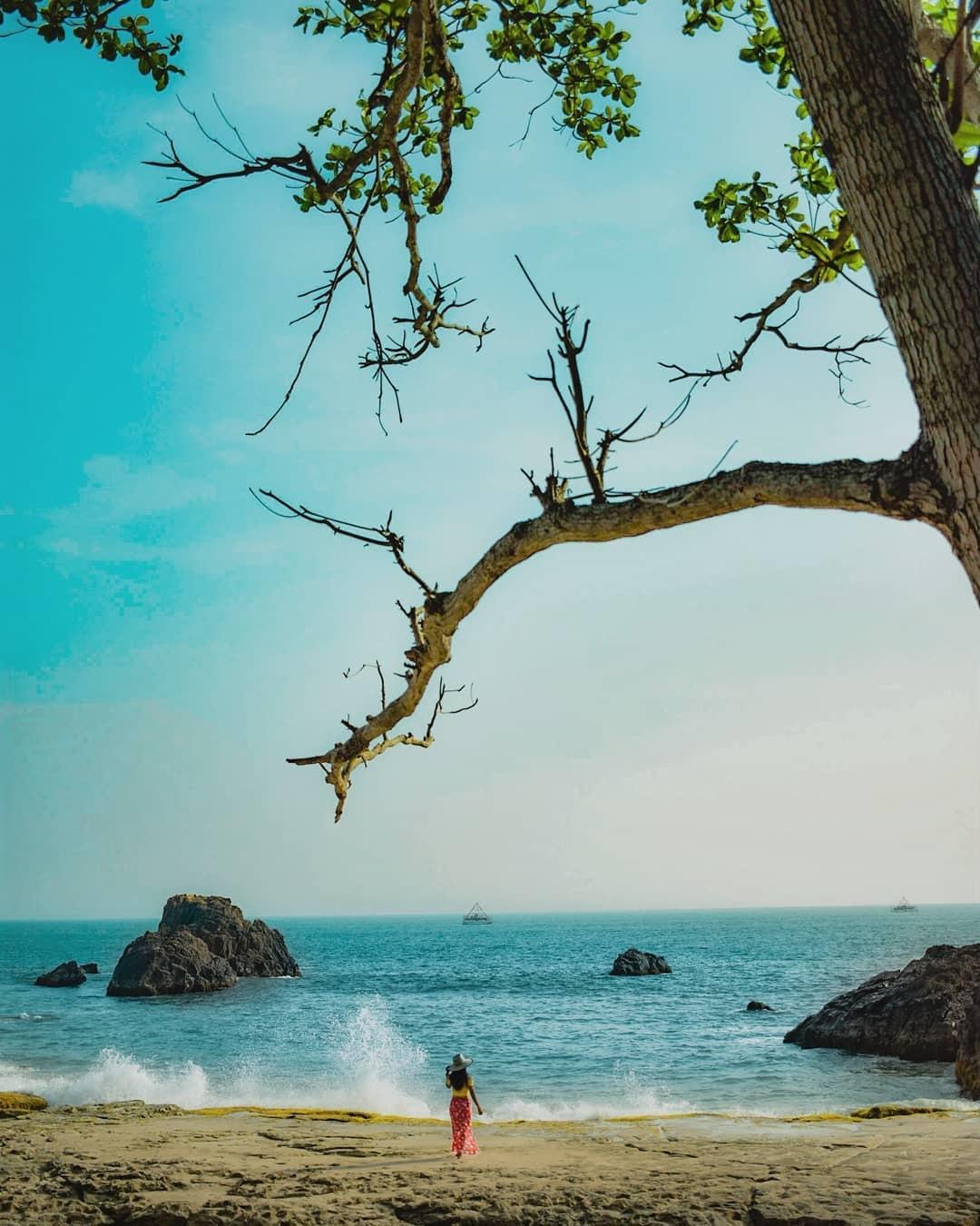 Pantai di Lampung