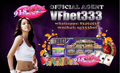 VF BET333 No1 Singapore Online Slot Site 918KISS LOGIN
