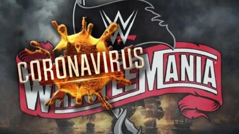 كورونا تجبر WWE على إلغاء مباراتان في راسلمينيا 36
