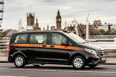 Mercedes-Benz Vito 114 CDI London Taxi (2017) Front Side