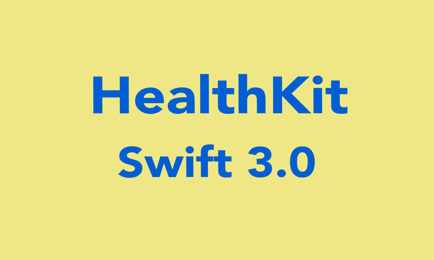 How To Save And Get Data from HealthKit in Swift 3 0? - iOSDevCenter