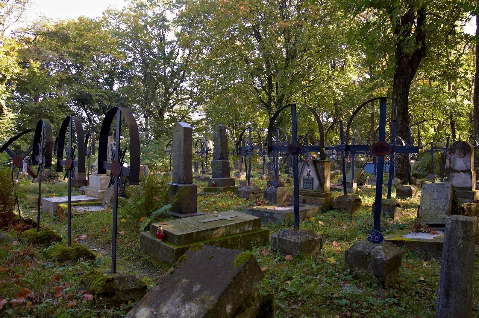 mogiły powstańców Styczniowych we Lwowie