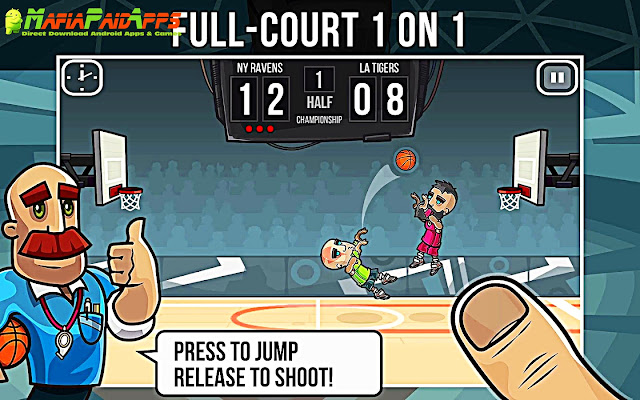Basketball Battle Apk MafiaPaidApps