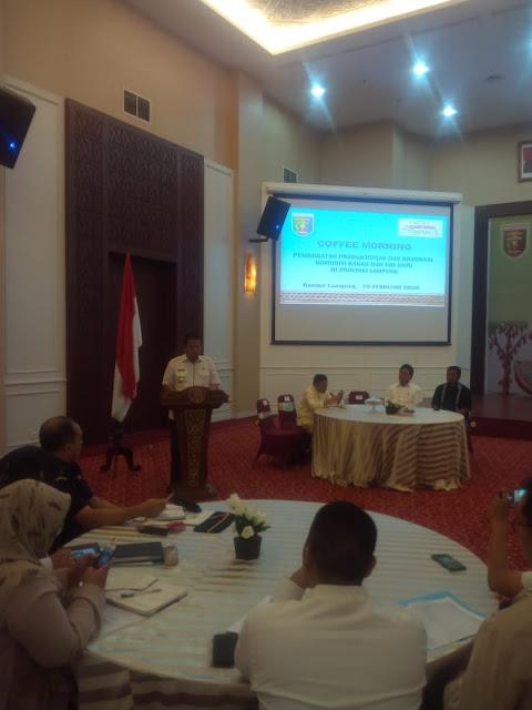 Perkuat Lampung Sebagai Lokomotif Pertanian Nasional, Gubernur Arinal Lakukan Hilirisasi Produk Kakao dan Ubi Kayu