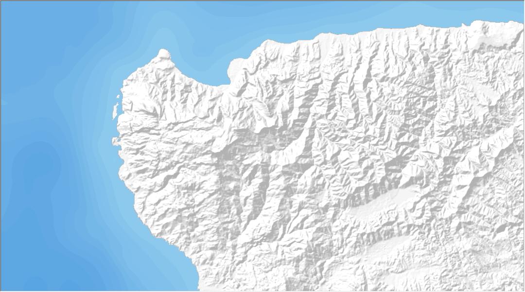 Membuat Berbagai Mode Tampilan Batimetri (Kedalaman Laut)