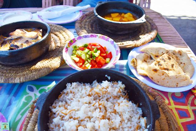 Comida en Egipto