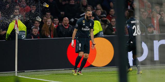 Kombinasi Vinicius-Benzema Menghukum Ajax