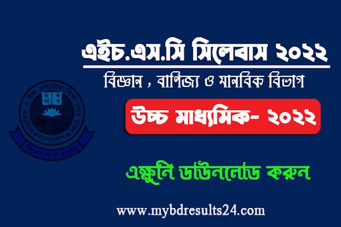 HSC New Short Syllabus 2022 Download Now
