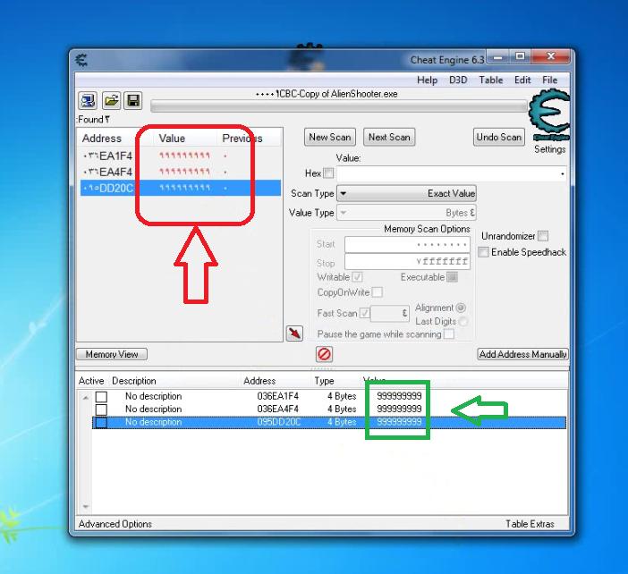 تحميل برنامج cheat engine للكمبيوتر 2017 مع الشرح بالصور