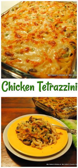 Chicken Tetrazzini at Miz Helen's Country Cottage
