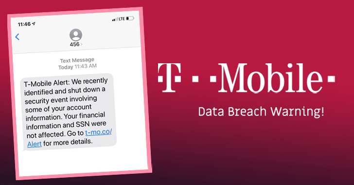Hackers Compromise T-Mobile Employee' Email Accounts and Steal User' Data