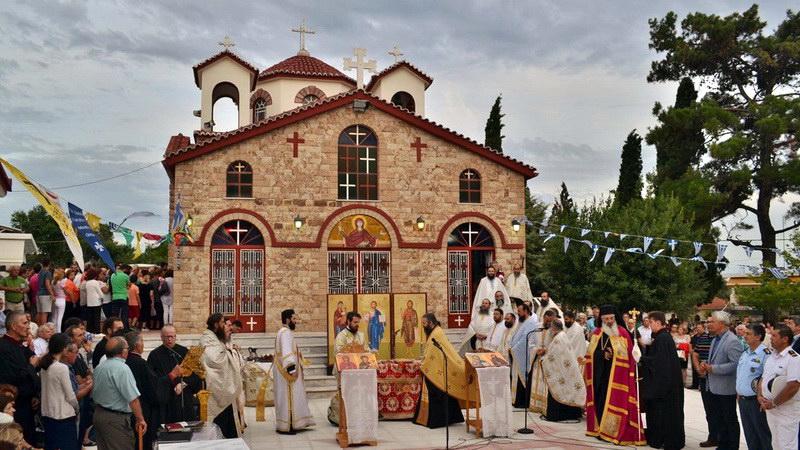 Ανακοίνωση εσόδων Πανηγύρεως Αγίας Μαρίνας Μαΐστρου