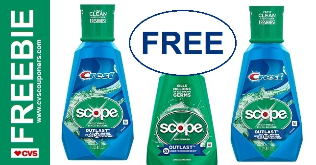 FREE Scope CVS Couponers Deal 98-914