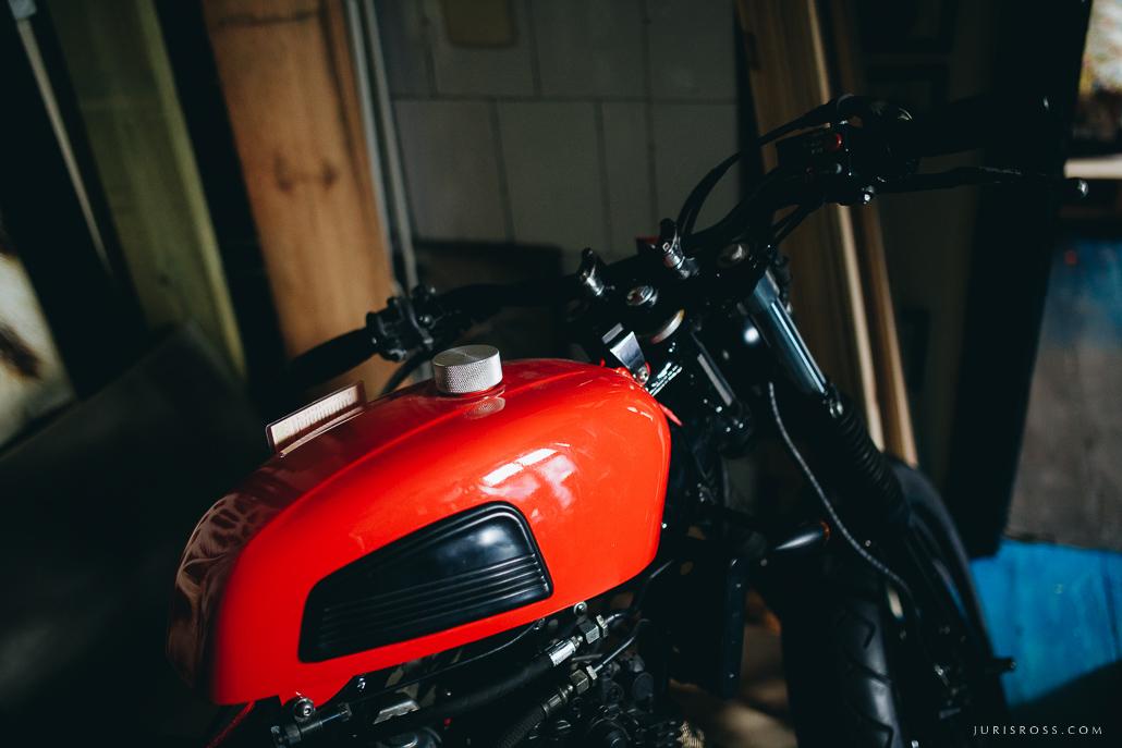 handmade motobike