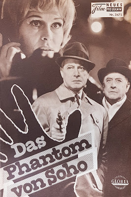 The Phantom of Soho, film program, Bryan Edgar Wallace