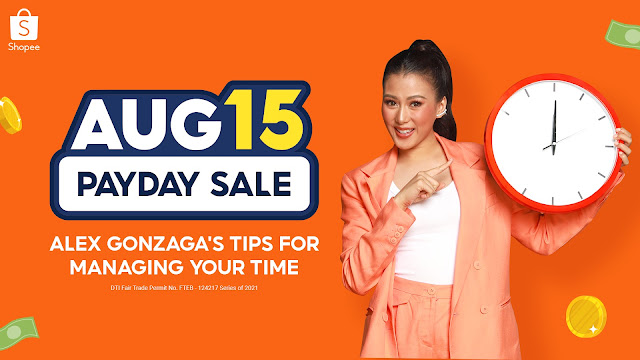 Shopee Princess Alex Gonzaga Shares How She Manages her Time with these Productivity-Boosting Items