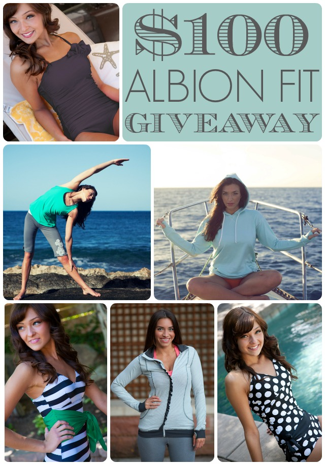 $100 Albion Fit Giveaway! - A Little Tipsy