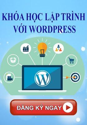 khóa học lập trình wordpress