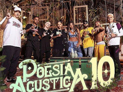 """Poesia Acústica 10: Ludmila, Orochi, Delacruz, JayA Luuck, PK, Mc Cabelinho e BK, juntos em """"Recomeçar"""""""