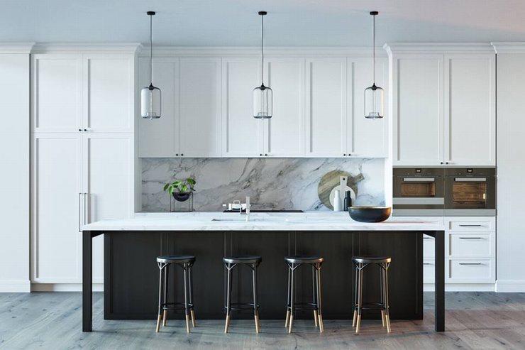thiết kế thi công nội thất nhà bếp độc đáo 21