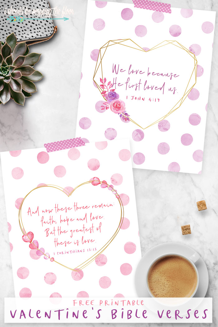 Valentine's Day Bible Verse Printables