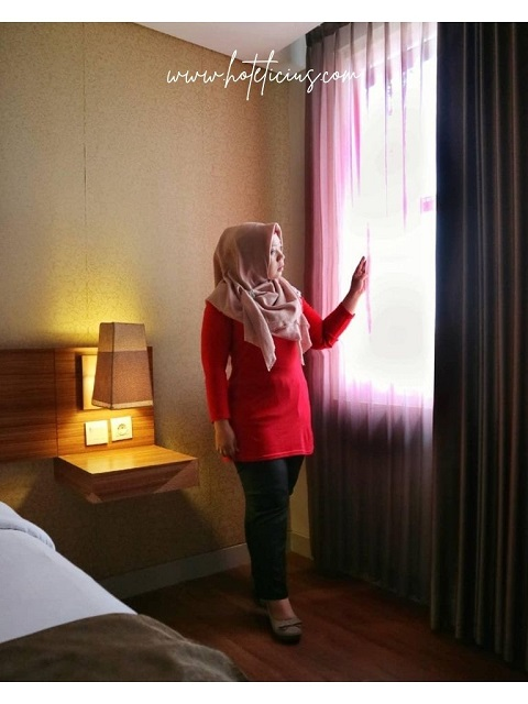 Jendela Kamar Hotel