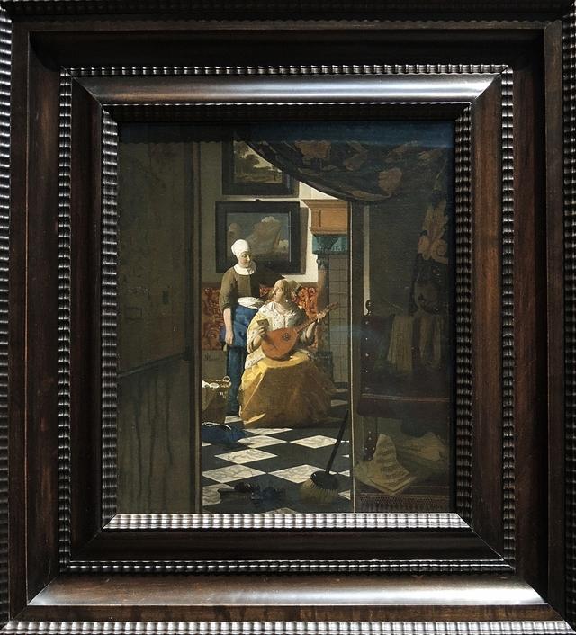 De liefdesbrief van Vermeer