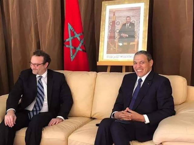 عاجل... وفد أمريكي هام  يصل العيون لمعاينة الوضع في الصحراء المغربية