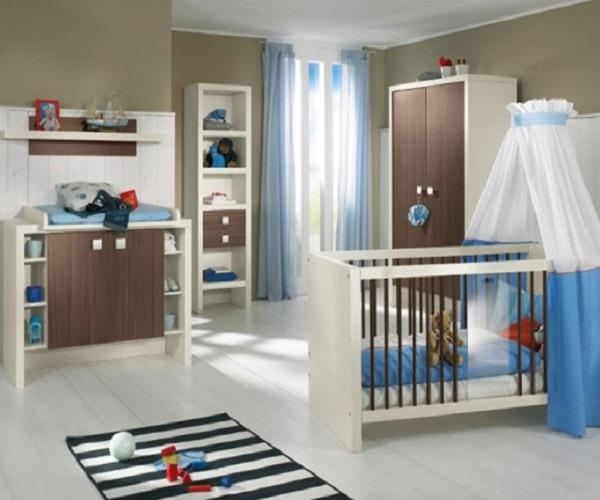 Décoration chambre de bébé garçon