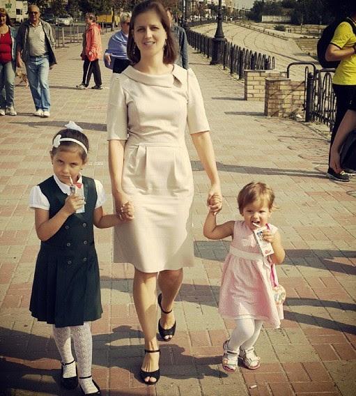 Наталия Лотоцька-Гевко з доньками