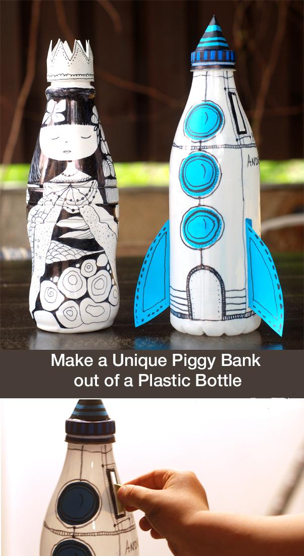 How to Make a Unique Piggy Bank