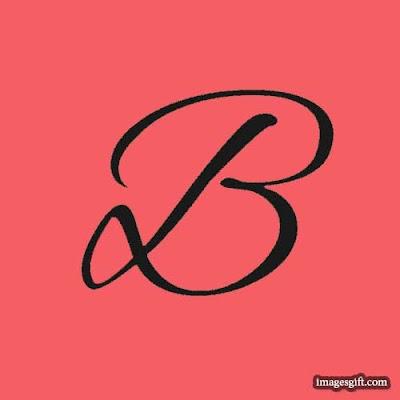 new dp for whatsapp alphabet b