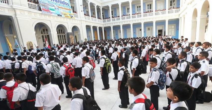 MINEDU: Colegios incluirán lucha contra la anemia en Calendario Cívico Escolar (R. M. N° 600-2018-MINEDU) www.minedu.gob.pe