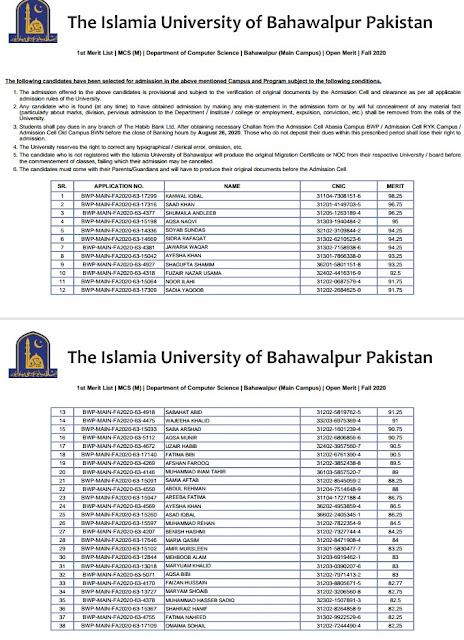 Iu Academic Calendar Spring 2022.Iub Morning Evening Self Finance Merit List Of Bachelor Master Spring 2021 And Last Semester Merit